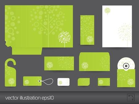 Foto de Stationery design vector  - Imagen libre de derechos