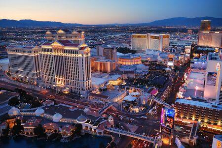 Las Vegas, Nevada - March 3,  Las Vegas strip, March 3, 2010 in Las Vegas, Nevada.