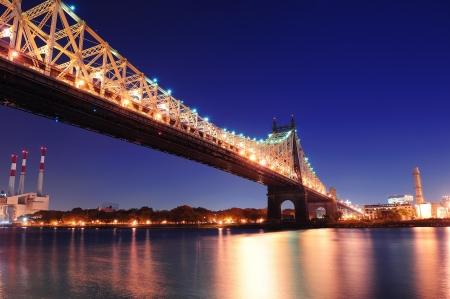 Queensboro Bridge At Dusk