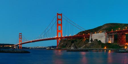 Golden Gate Bridge Evening
