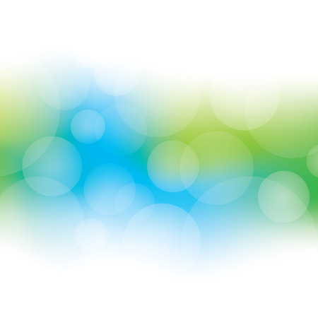 Illustration for Abstract Bokeh Background - Royalty Free Image
