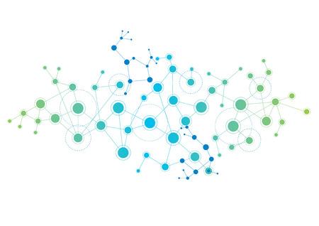 Illustration pour Network - image libre de droit