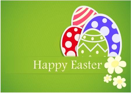 Vector Illustration Of Easter Gift Paper