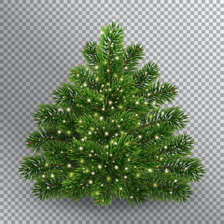 Illustration for Christmas tree - Royalty Free Image