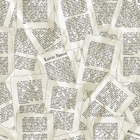 Vector Background Of Old Sheets Of Paper Can Be Used For