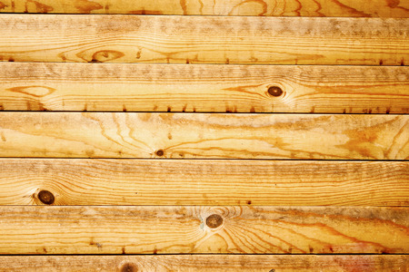 wall of wooden planks
