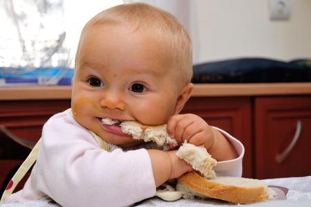 Small baby feeding