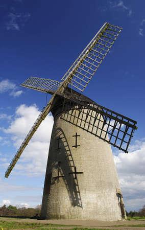 Photography of Bidston Windmill situated near Birkenhead in Wirral Peninsula, UK