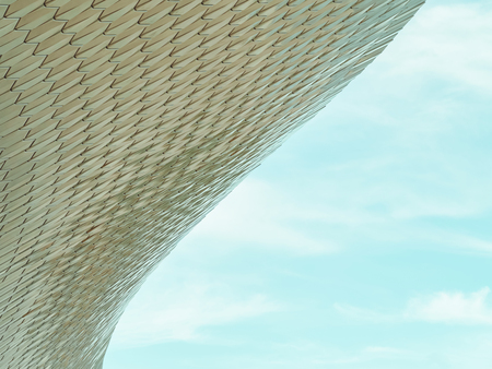 Foto per LISBON, PORTUGAL - AUGUST 25, 2017: Modern Abstract Architecture Details In Lisbon, Portugal - Immagine Royalty Free