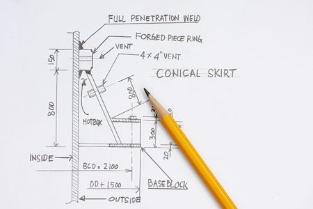 Design of pressure vessel concept - many uses in the oil and gas industry