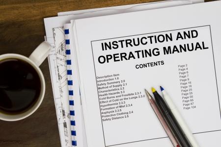 Operating instruction manual