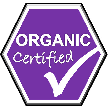 The images symbol have been ORGANIC certified