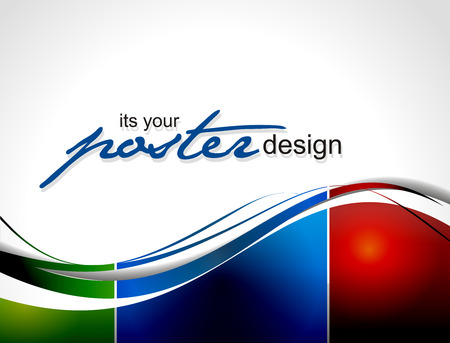Abstract background with colorful design for text project used illustration.