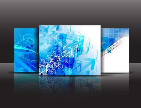vector business brochure template.