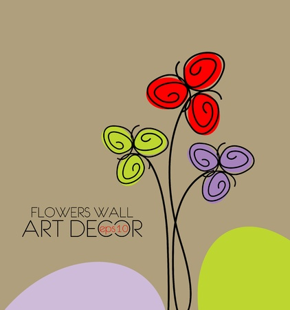 Abstract Spring Flower Background Illustration Royalty