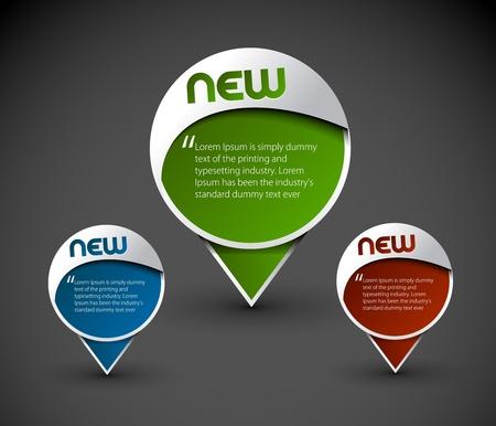 Illustration pour messenger window icon element, vector illustration.  - image libre de droit