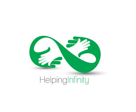 Symbol of Help Center, isolated vector design