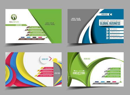 Business Card Mock up Template Design
