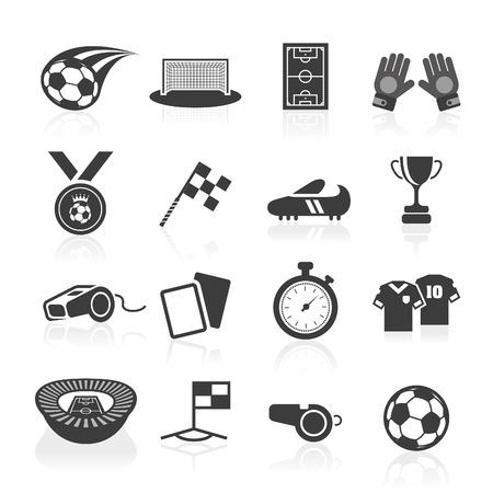 Ilustración de Soccer icon set  - Imagen libre de derechos