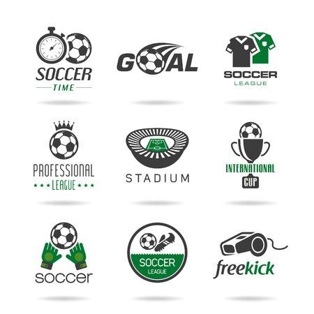 Ilustración de Soccer icon set - 3 - Imagen libre de derechos