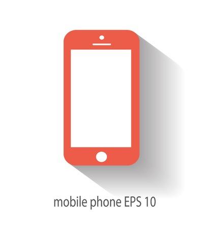 Mobile icon vector illustration
