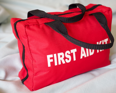 First Aid Kit Closeup