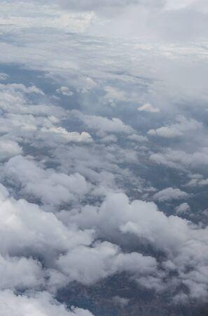 Photo pour Bangalore to Pune,, a group of clouds in the sky - image libre de droit