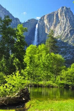 Upper Yosemite Falls. Yosemite National Park
