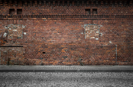 Industrial building wall background