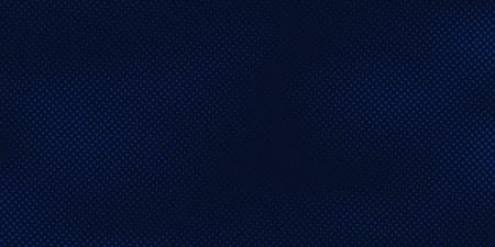 Illustration pour Abstract dark blue background with halftone pattern light blue  texture. Creative cover design template. Vector illustration - image libre de droit