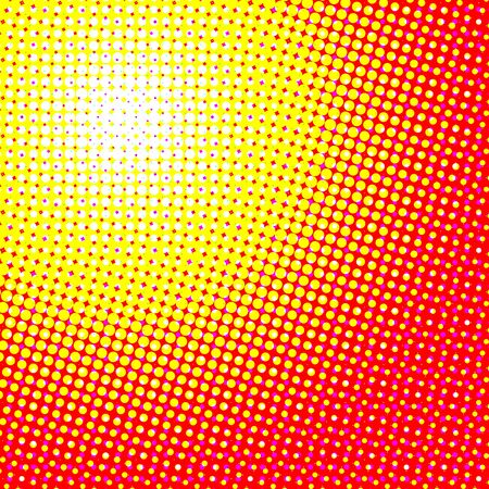 Illustration for abstract halftone dotted vector background - Royalty Free Image