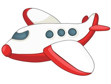 Illustration for Cartoon Airplane - Royalty Free Image