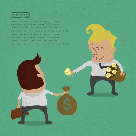 Business sell idea , eps 10 vector format