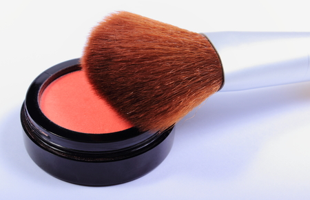 Professional brush for makeup and cosmetics for woman, womanly cosmetics accessories