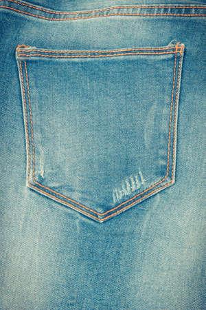 Photo pour Blue jeans pants, concept of casual and comfortable clothing - image libre de droit
