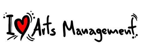 I love Arts Management