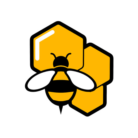 Illustration pour nature honey symbol - image libre de droit