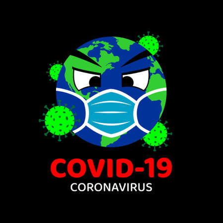 Illustration for Corona Virus (COVID-19) Vector Illustration Design - Royalty Free Image