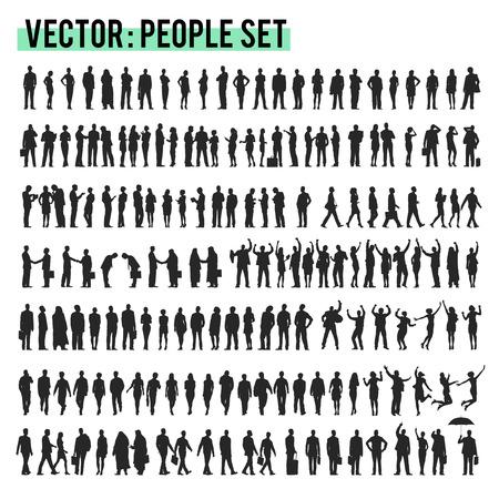 Illustration pour Vector Business People Corporate Company Concept - image libre de droit
