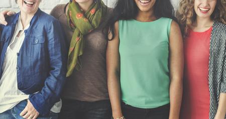 Photo pour Group of Women Happiness Cheerful Concept - image libre de droit