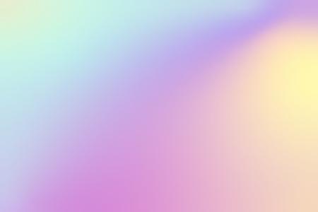 Illustration pour Colorful holographic gradient background design - image libre de droit