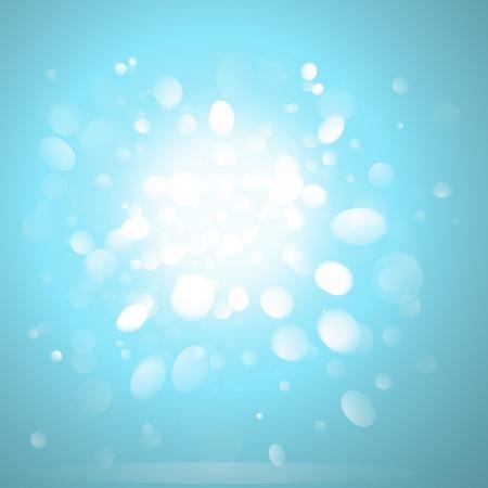 Illustration pour Blurred glowing background effect vector - image libre de droit