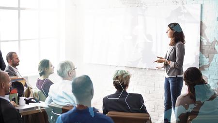 Photo for Woman coaching at a seminar - Royalty Free Image