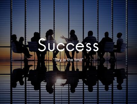 Foto de Success Improvement Development Achievement Accomplishment Concept - Imagen libre de derechos