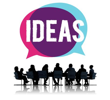 Photo pour Business ideas - image libre de droit