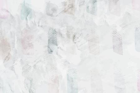 Illustration pour Gray paintbrush stroke textured background vector - image libre de droit
