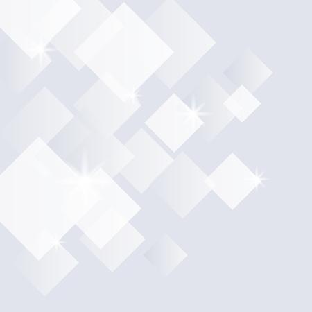 Illustration pour Gray and white crystal textured background - image libre de droit
