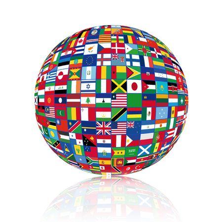 Foto de World  of Flags - Imagen libre de derechos