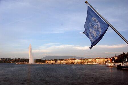 United Nations Flag - Geneva, Switzerland