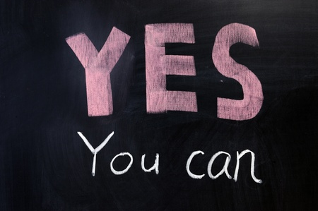 Chalk drawing - YES you can written on chalkboard